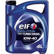 Масло моторное ELF Evolution 700 TD 10W-40 (SN) (Канистра 4л)