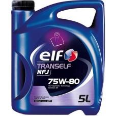 Масло трансмиссионное ELF Tranself NFJ 75W-80 (Канистра 5л)